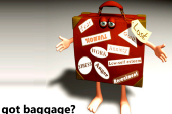 Empty out your emotional baggage